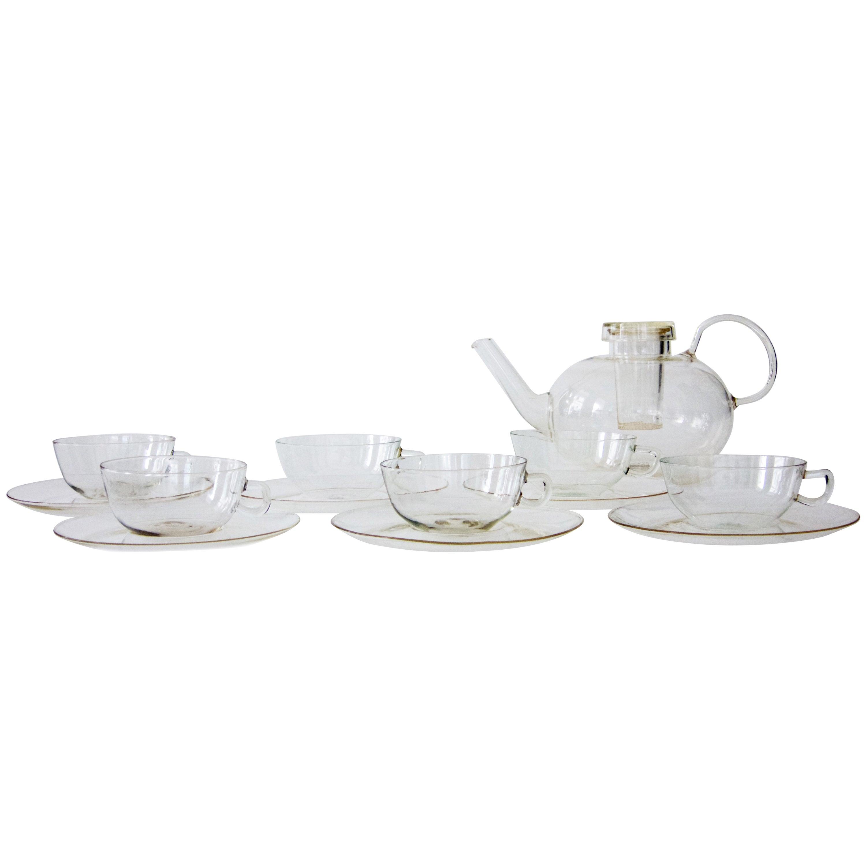 Takito Japanese Thousand Faces Tea Set by Nippon at 1stdibs