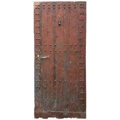 Old Rabat Brown Moroccan Door, Riverside
