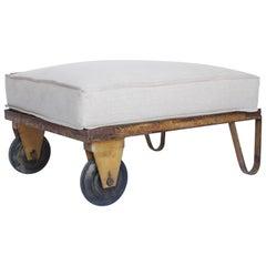 Industrial Trolley with Custom Cushion