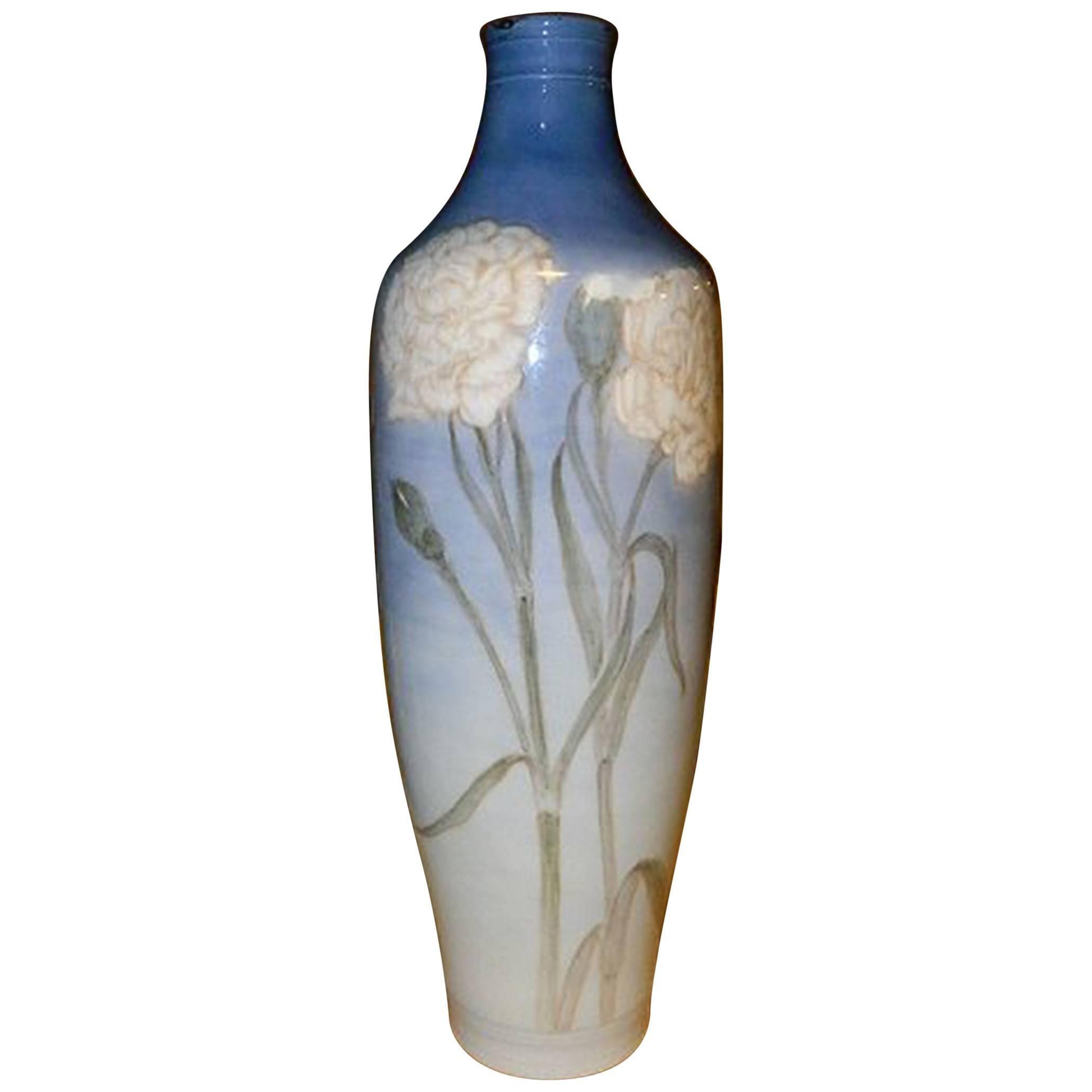 Royal Copenhagen Art Nouveau Unique Vase by Anna Smidth from July 1914