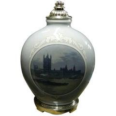 Huge Royal Copenhagen Unique Vase by Richard Bøcher from 1924