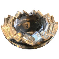 Rosenthal Modernist  Crystal Glass Vide-Poche Dish