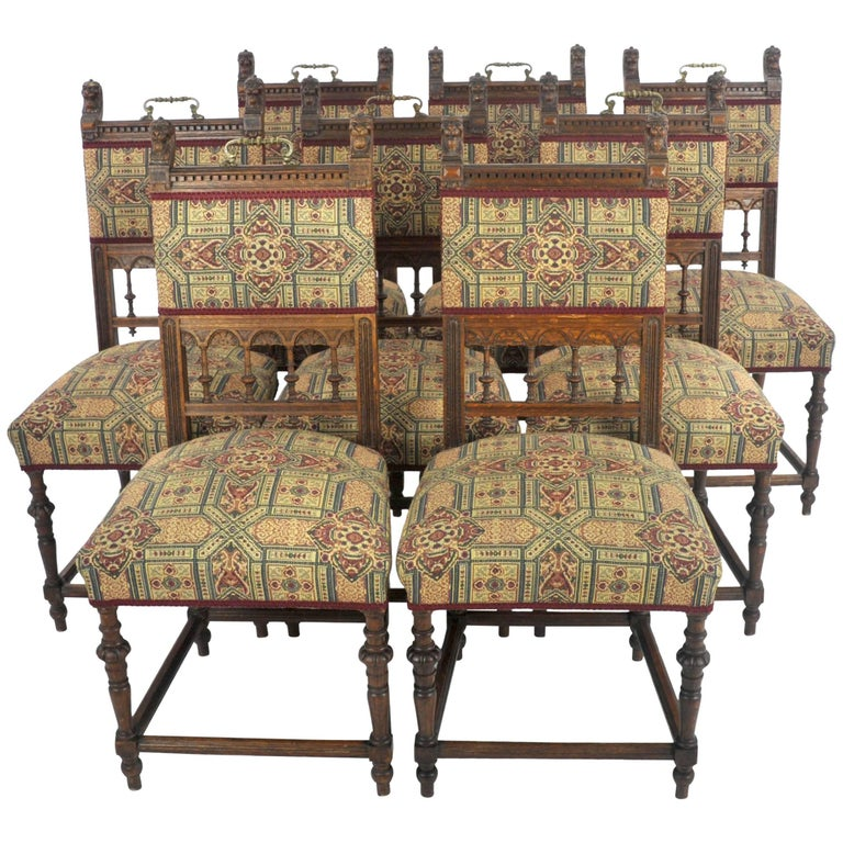 Antique Dining Room Chairs For Sale: Antique Dining Chairs, Oak Dining Chairs, Vintage Chair