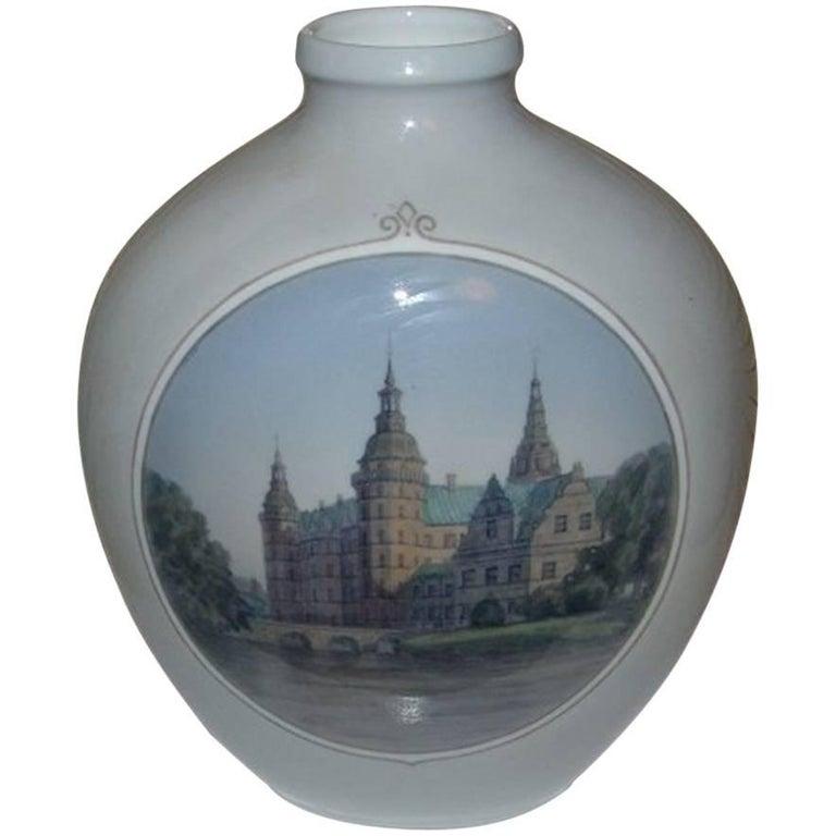 Royal Copenhagen Unique Vase by Theodor Kjølner from 1932 For Sale