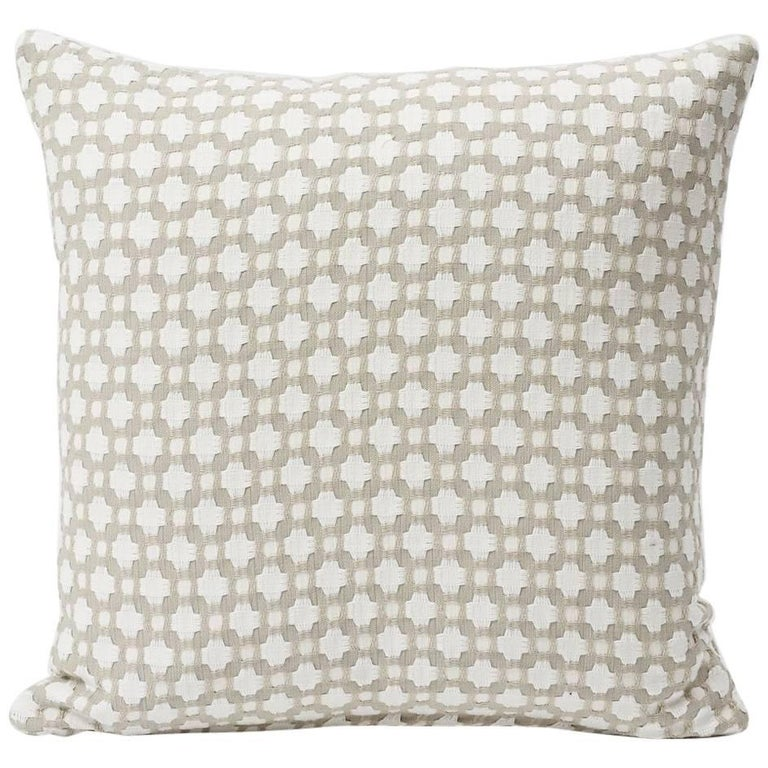 Schumacher Betwixt geometric pillow, 21st century, offered by Schumacher