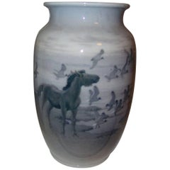 Royal Copenhagen Unique Vase by Gotfred Rode from 1931