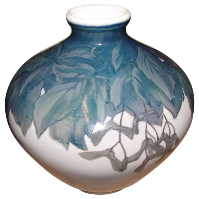 Royal Copenhagen Art Nouveau Unique Vase