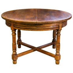 French, Oak Extension Table