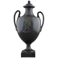 Vase in Black Basalt, Wedgwood & Bentley, circa 1775