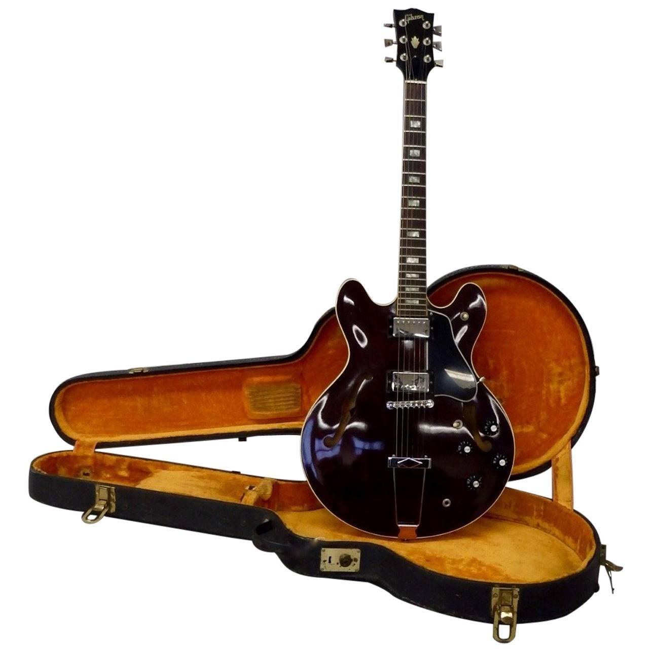 1978 Gibson Estate Fresh ES 335 TD Semi Hollow Body Electric Guitar