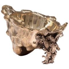 LIZBOWL Designed by the Campana Brothers - Gilt Bronze bowl