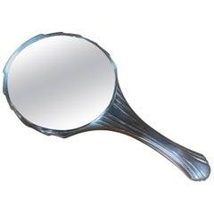 Deco Italian Hand Mirror, 1940s