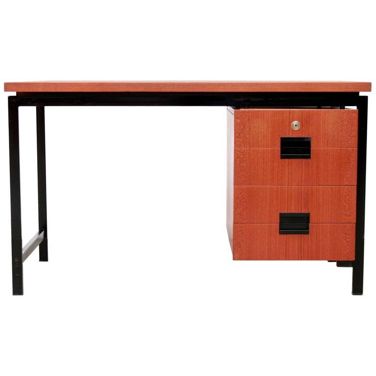 Pastoe EU01 Japanese Series Free Standing Teak Desk by Cees Braakman