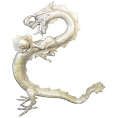 Silver Plated Dragon