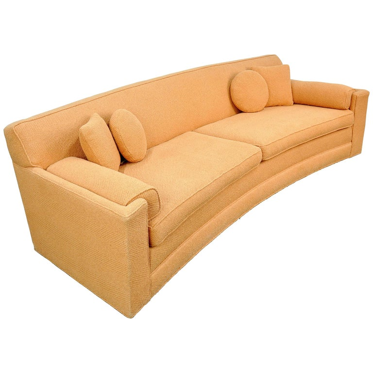 Harvey Probber Curved Sofa