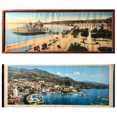 French Souvenir Colorized Photos of Nice and Monaco