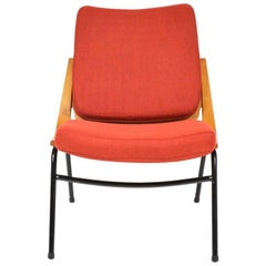 Vintage Boomerang Chair from TON, Czechoslovakia, 1960s