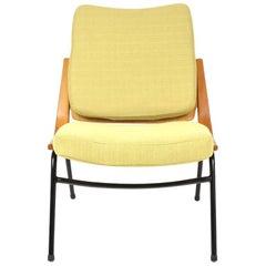 Czech Boomerang Chair from TON, 1960s