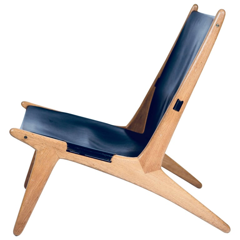 Hunting Chair by Uno & Östen Kristiansson for Luxus, Sweden, 1954