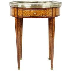 Rare 19th Century Tee/Coffee Side Table, France, circa 1880, Rosewood Veneered