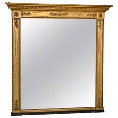 Elegant Regency Gilt Pier Mirror