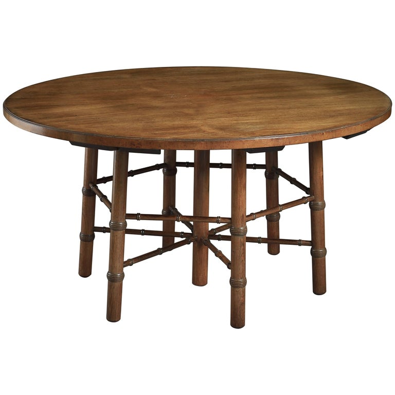 Rosewood Centre Table Designed by Philip Webb