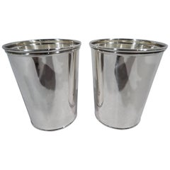 Pair of Frank W. Smith Sterling Silver Mint Julep Cups