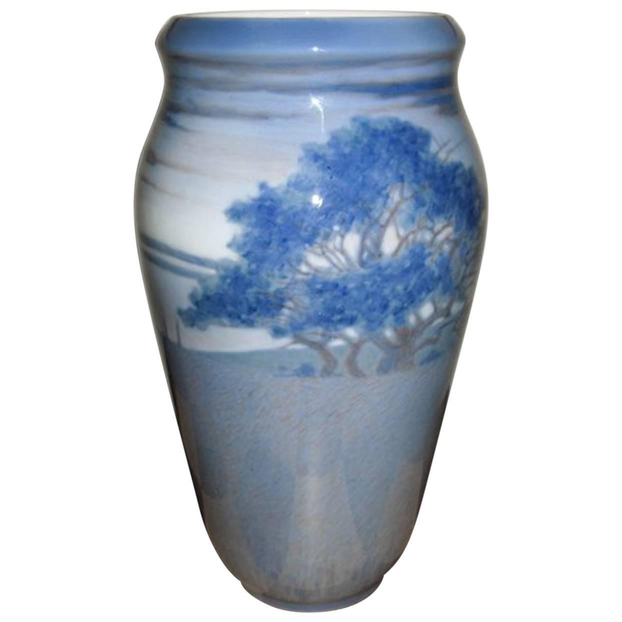 Royal Copenhagen Unique Vase by Anna Smidth from 1914