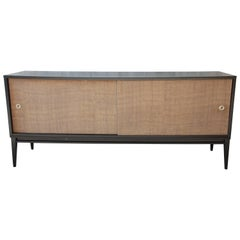 Paul McCobb Planner Group Mid-Century Modern Ebonized Low Credenza