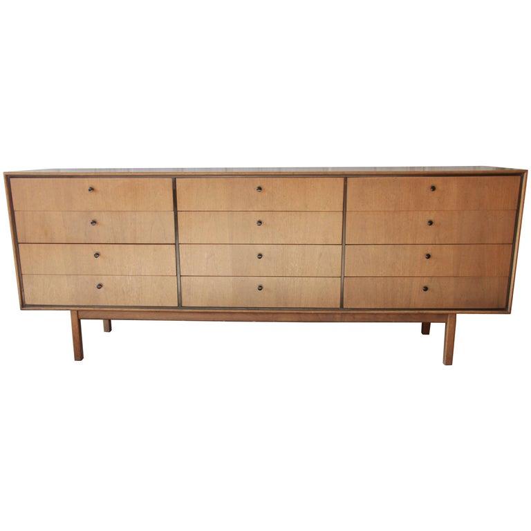 Milo Baughman for Arch Gordon Mid-Century Modern 12-Drawer Dresser