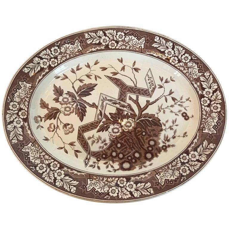 Late 19th Century Wedgewood Beatrice Platter