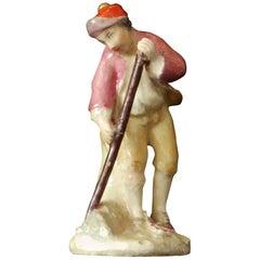 Miniature Figure 'Gardener,' Chelsea, circa 1755
