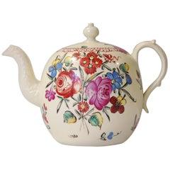 Creamware Teapot, Wedgwood, circa 1775