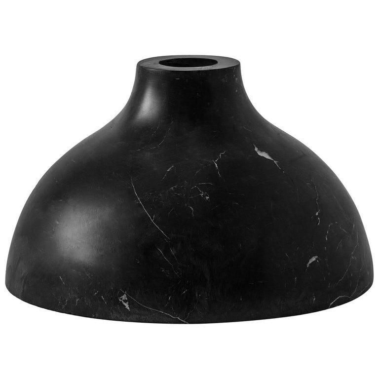 S.R.O. Rito Black Marble Vessel #4 'Small' by Ewe Studio