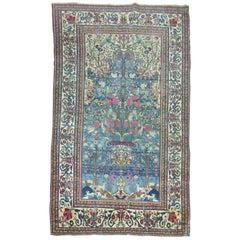 Pictorial Persian Isfahan Prayer Carpet