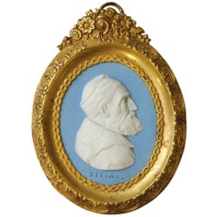 Portrait Medallion, Titian, Wedgwood, circa 1790