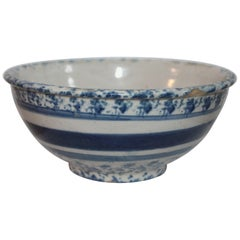 19th Century Spong Ware Bowl