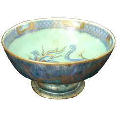 Lustre Punch Bowl with Dragons, Wedgwood, circa 1925