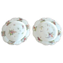 Pair of Bird Plates, Chelsea, circa 1755