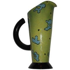 Memphis Style Ceramic Pitcher
