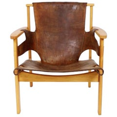 Vintage Swedish Trienna Armchair by Carl-Axel Acking for Nordiska Kompaniet