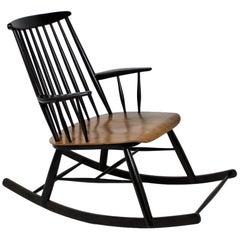 Scandinavian Style Rocking Chair, 1960s