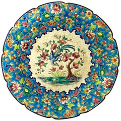 Longwy Enamel Footed Bowl Mid-20th Century 'Up to 1955'