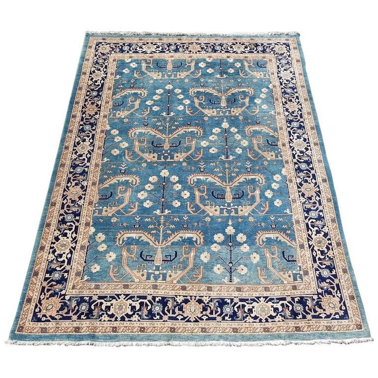 20th Century Persian Wool Tree Of Life Rug For