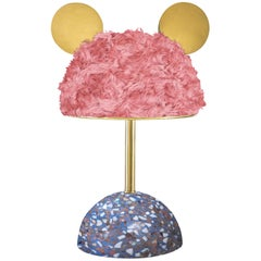 Minos Pink Table Lamp Limited Edition by Merve Kahraman for Manfredi Style