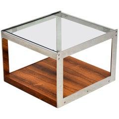 1960s Chrome Coffee Table by Merrow Associates