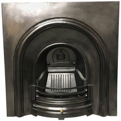 Period Cast Iron Arched Fireplace Insert
