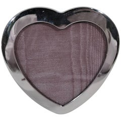 Tiffany Sterling Silver Sweet and Small Valentine's Day Heart Frame