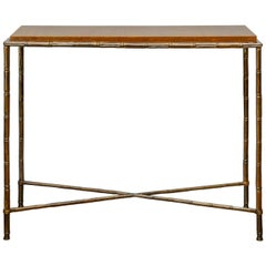 Bamboo Style Console
