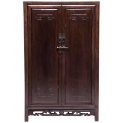Early 19th Century Chinese Two-Door Cabinet